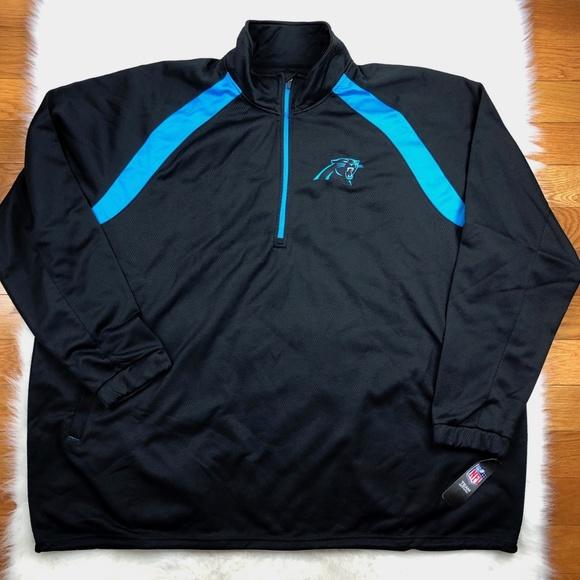 reputable site a422f 20acc Carolina Panthers NFL Big Man Track Jacket 5XL 6XL Boutique